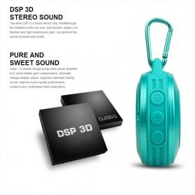 MIFA Waterproof Bluetooth Speaker with Carabiner - F10 - Black - 3