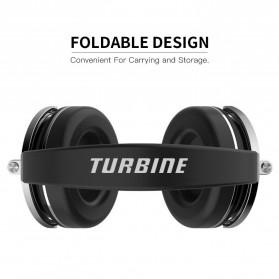 Bluedio T4 Turbine Wireless Bluetooth Headphones - Black - 2