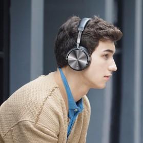 Bluedio T4 Turbine Wireless Bluetooth Headphones - Black - 3