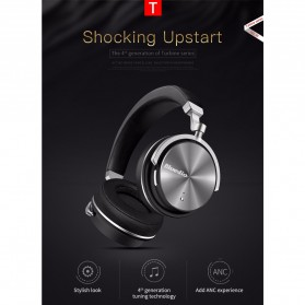 Bluedio T4 Turbine Wireless Bluetooth Headphones - Black - 6