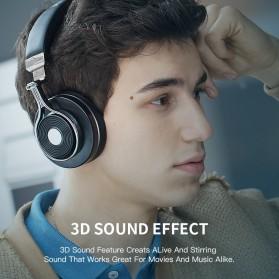 Bluedio T3 Turbine 3D Wireless Bluetooth Headphone - Black - 5