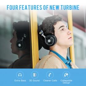 Bluedio T3 Turbine 3D Wireless Bluetooth Headphone - Black - 6