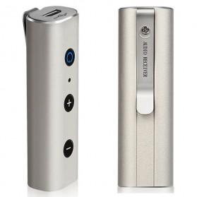 Wireless Bluetooth Clip-On Receiver - BT810 - Silver