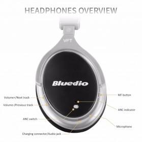Bluedio F2 Wireless Bluetooth Headphones - Black - 3