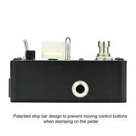 AROMA Pedal Efek Gitar Distorsi - ADR-3 Dumbler - Brown - 2