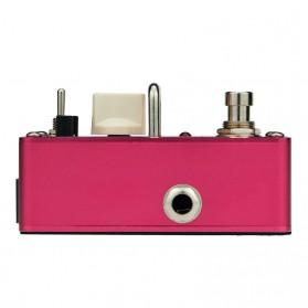 AROMA Pedal Efek Gitar Distorsi - AVS-3 Vacuum Stack - Red - 2