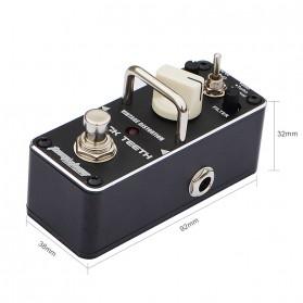 AROMA Pedal Efek Gitar Distorsi - ABT-3 Black Teeth - Black - 3