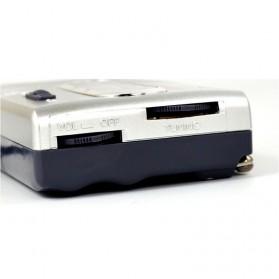 INDIN Portable AM/FM Radio Player Loudspeaker - BC-R21 - Silver - 4