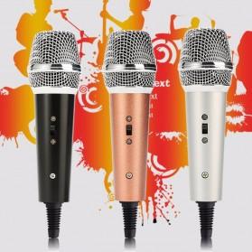 Mikrofon Karaoke KTV 3.5mm - F5 - Black - 2