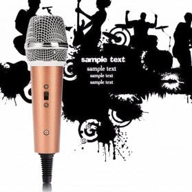 Mikrofon Karaoke KTV 3.5mm - F5 - Black - 3