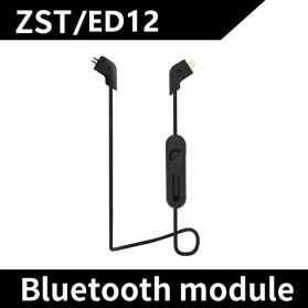 KZ Bluetooth Adapter Cable for Earphone ZST/ED12 - Black