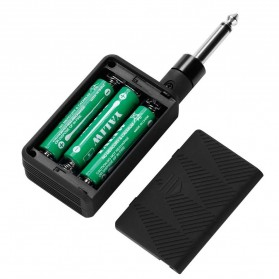 Rowin Digital Transmitter dan Receiver Gitar 2.4GHZ - Black - 2