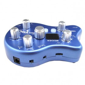 MOOER Pogo Multi Effect Pedal Gitar Electric Portable - Blue - 3