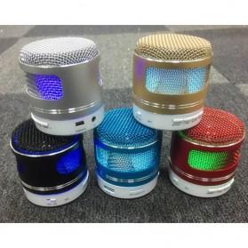 Mini Portable Bluetooth Speaker Model Mikrofon - Black - 5