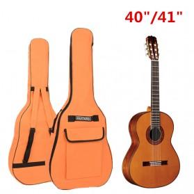 ADDFOO Tas Gitar Oxford Padded Guitar Case Double Strap Waterproof - ZH06501 - Black - 2