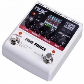 NUX Time Force Delay Effect / Pedal Efek Gitar Listrik - Black White - 3