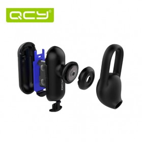 QCY Q12 Mini Earphone Bluetooth dengan Mic - Black - 6