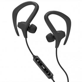 PTM Sport Wireless Bluetooth Earphone dengan Mic - BX441 - Black