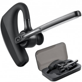 Wireless Headset Bluetooth V4.1 dengan Mic - K10 - Black