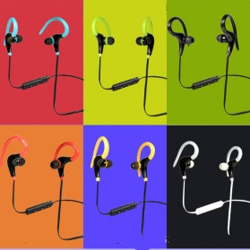 Sport Wireless Bluetooth Earphone dengan Mic - BT-01 - Black - 3