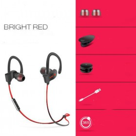 Tebaurry Sporty Bluetooth Earphone - S2 - Red