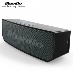 Bluedio BS-5 Mini Bluetooth Portable Speaker 3D Surround Effect - Black