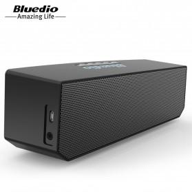 Bluedio BS-5 Mini Bluetooth Portable Speaker 3D Surround Effect - Black - 4