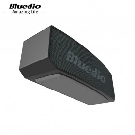 Bluedio BS-5 Mini Bluetooth Portable Speaker 3D Surround Effect - Black - 5
