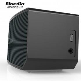 Bluedio BS-5 Mini Bluetooth Portable Speaker 3D Surround Effect - Black - 6