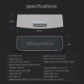Bluedio BS-5 Mini Bluetooth Portable Speaker 3D Surround Effect - Black - 7