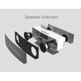 Bluedio BS-5 Mini Bluetooth Portable Speaker 3D Surround Effect - Black - 8