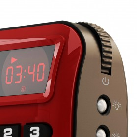 Rolton W405 Portable FM Radio Player TF Card - W405 - Red - 2