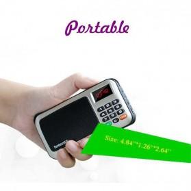 Rolton W405 Portable FM Radio Player TF Card - W405 - Red - 3