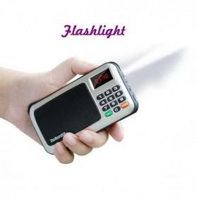 Rolton W405 Portable FM Radio Player TF Card - W405 - Red - 6