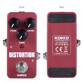 KOKKO Pedal Efek Gitar Distorsi - FDS2 - Red - 3