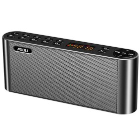 AIDU Speaker Bluetooth Portabel Fashion Elegan - Q8 - Black