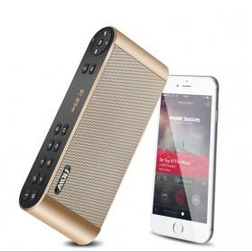 AIDU Speaker Bluetooth Portabel Fashion Elegan - Q8 - Black - 3