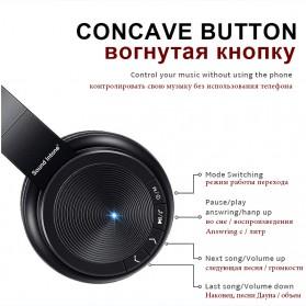 Sound Intone P30 Bluetooth Headphone TF Card with Mic - Black - 5