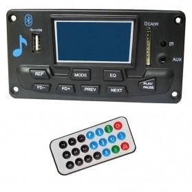Modul Tape Audio MP3 Recording Bluetooth Board Decoder FM Radio - Black