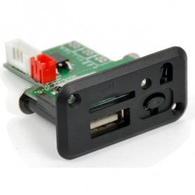 Modul Tape Audio MP3 Player Mobil dengan USB dan TF Card Slot - ZTV-CT09 - Black