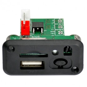 Modul Tape Audio MP3 Player Mobil dengan USB dan TF Card Slot - ZTV-CT09 - Black - 6