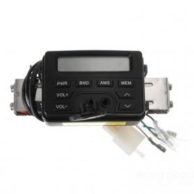Perangkat Audio MP3 Player FM Radio untuk Motor dengan 2 Speaker - MT-723 - Black - 4