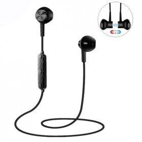 TIMWILL Earphone Bluetooth Sporty dengan Magnetic - MST-i8 - Black - 1
