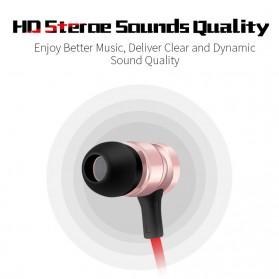 Earphone Bluetooth Sporty dengan Bass Stereo - S6-6 - Black - 4