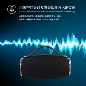 Wireless Bluetooth Speaker 360 TF Card FM Radio - E16 - Black - 3