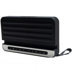 Bluetooth Speaker Relaksasi dengan Smartphone Stand - V2 - Silver - 4
