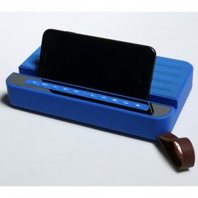 Bluetooth Speaker Relaksasi dengan Smartphone Stand - V2 - Silver - 8