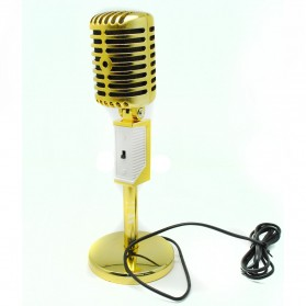 Professional Condenser Microphones Jazz Vintage - MC-305 - Golden