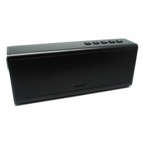 Aluminium Portable Bluetooth Speaker 20W TF Card & FM Radio - Black - 2