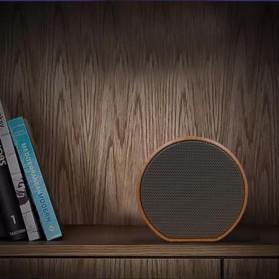 Elegant Wood Mini Bluetooth Speaker - A60 - White - 2